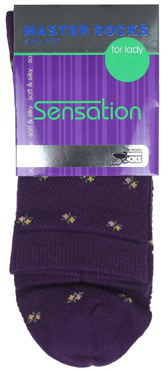 Носки85702Удобные носки Master Socks, изготовленные из высококачественного комбинированного материала, очень мягкие и приятные на ощупь, позволяют коже дышать. Эластичная резинка плотно облегает ногу, не сдавливая ее, обеспечивая комфорт и удобство. Носки цветочным орнаментом и дополнены перфорацией. Практичные и комфортные носки великолепно подойдут к любой вашей обуви.