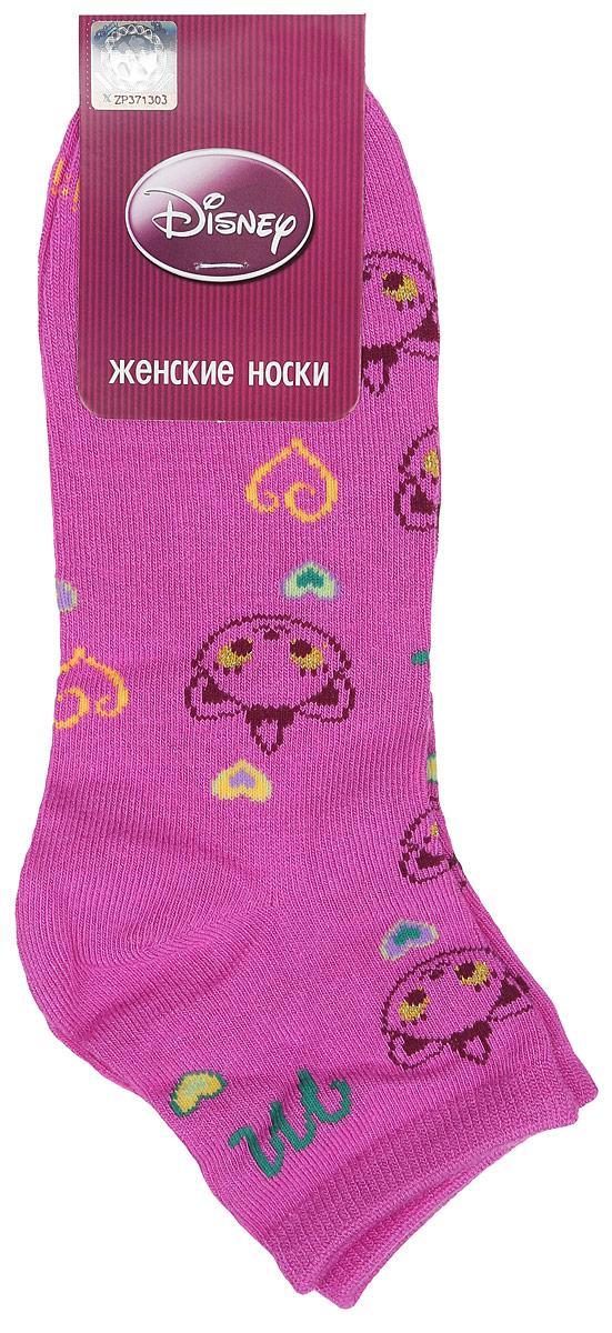 Носки женские Disney. 15861_сердце15861Удобные укороченные носки Master Socks, изготовленные из высококачественного комбинированного материала, очень мягкие и приятные на ощупь, позволяют коже дышать. Эластичная резинка плотно облегает ногу, не сдавливая ее, обеспечивая комфорт и удобство. Носки оформлены принтом с изображением героев мультфильма. Практичные и комфортные носки великолепно подойдут к любой вашей обуви.