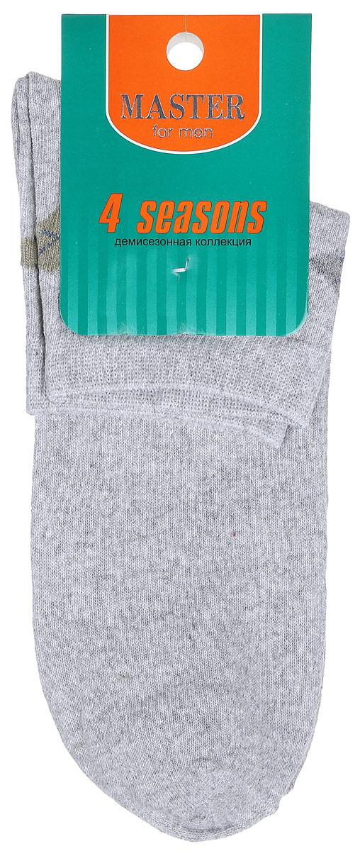 Носки58034Удобные носки Master Socks, изготовленные из высококачественного комбинированного материала, очень мягкие и приятные на ощупь, позволяют коже дышать. Эластичная резинка плотно облегает ногу, не сдавливая ее, обеспечивая комфорт и удобство. Носки с укороченным паголенком оформлены геометрическим принтом на верхней части носка. Удобные и комфортные носки великолепно подойдут к любой вашей обуви.