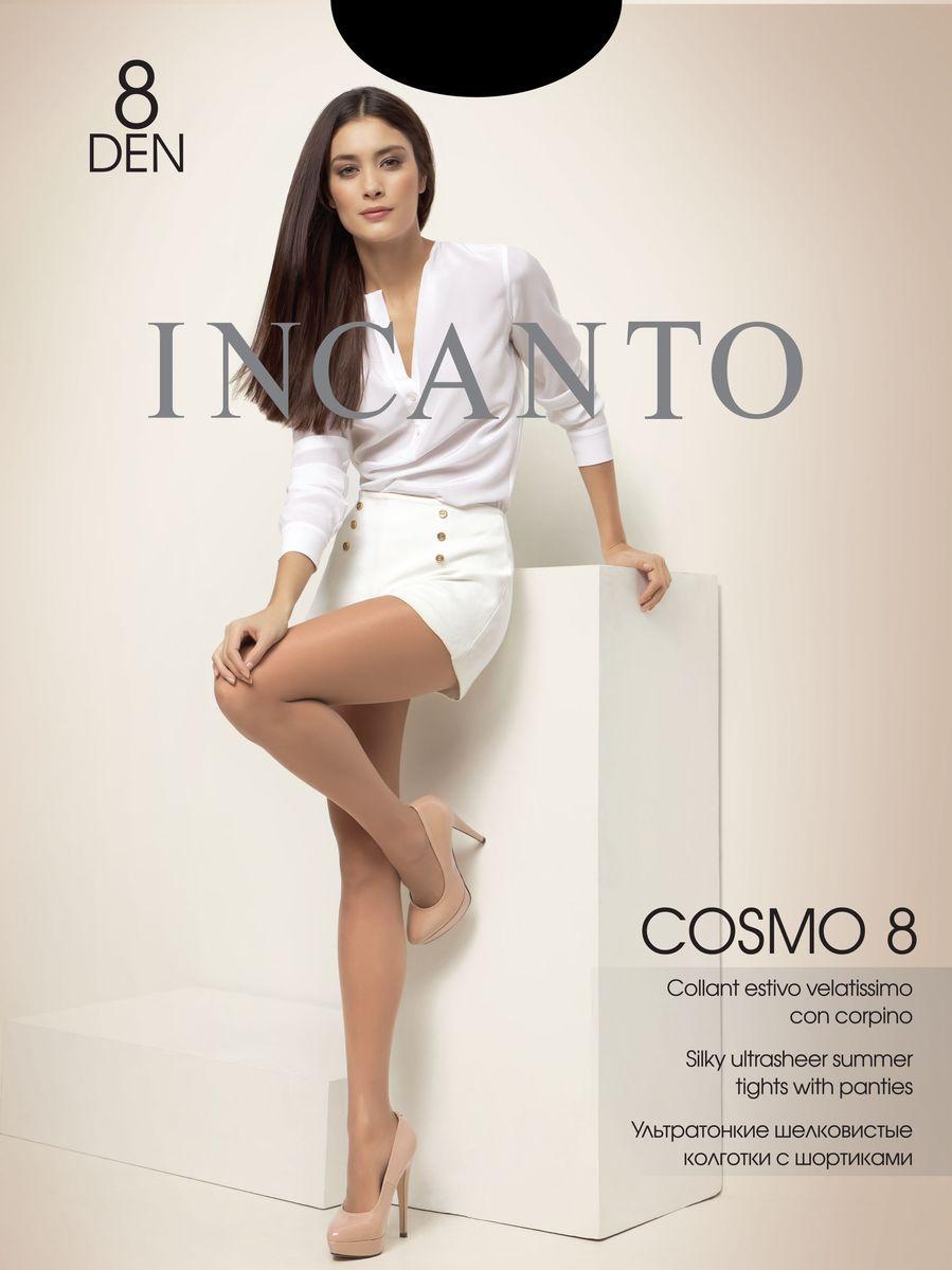 Колготки женские Cosmo 8. 1414214142Стильные классические колготки Incanto Cosmo 8, изготовленные из эластичного полиамида, идеально дополнят ваш образ и подчеркнут элегантность и стиль. Ультратонкие шелковистые колготки легко тянутся, что делает их комфортными в носке. Гладкие и мягкие на ощупь, они имеют укрепленные шортики, комфортный пояс и укрепленный прозрачный мысок. Идеальное облегание и комфорт гарантированы при каждом движении. Плотность: 8 den.