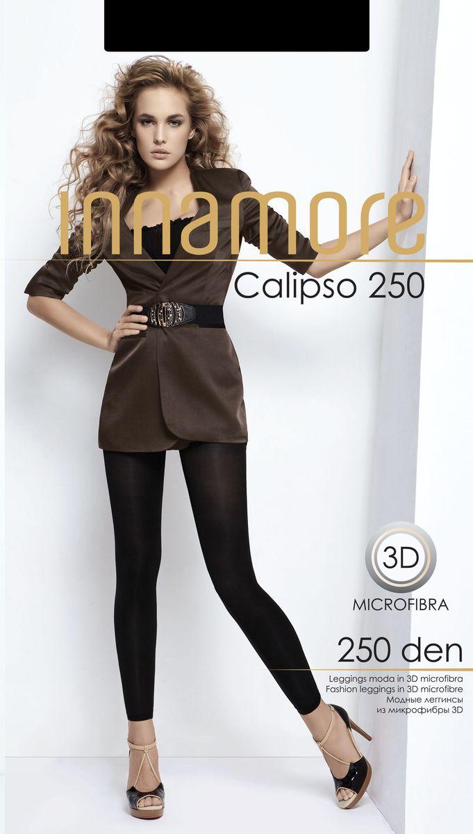 13281Плотные комфортные леггинсы Innamore изготовлены из высококачественного полиамида с добавлением эластана. Модель дополнена широким поясом и гигиенической ластовицей.