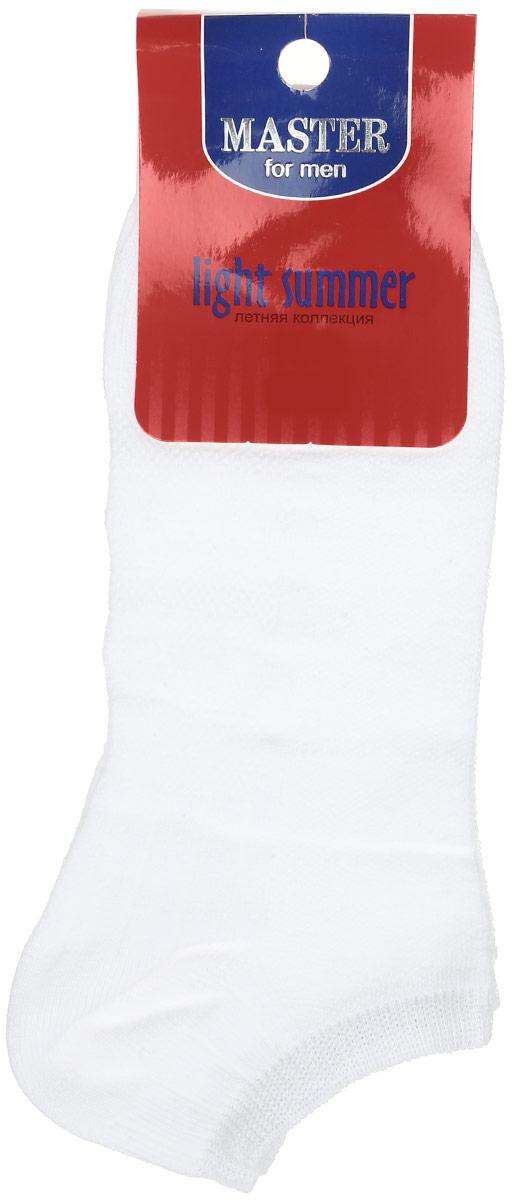 Носки58059Удобные носки Master Socks, изготовленные из высококачественного комбинированного материала, очень мягкие и приятные на ощупь, позволяют коже дышать. Эластичная резинка плотно облегает ногу, не сдавливая ее, обеспечивая комфорт и удобство. Носки с укороченным паголенком. Удобные и комфортные носки великолепно подойдут к любой вашей обуви.