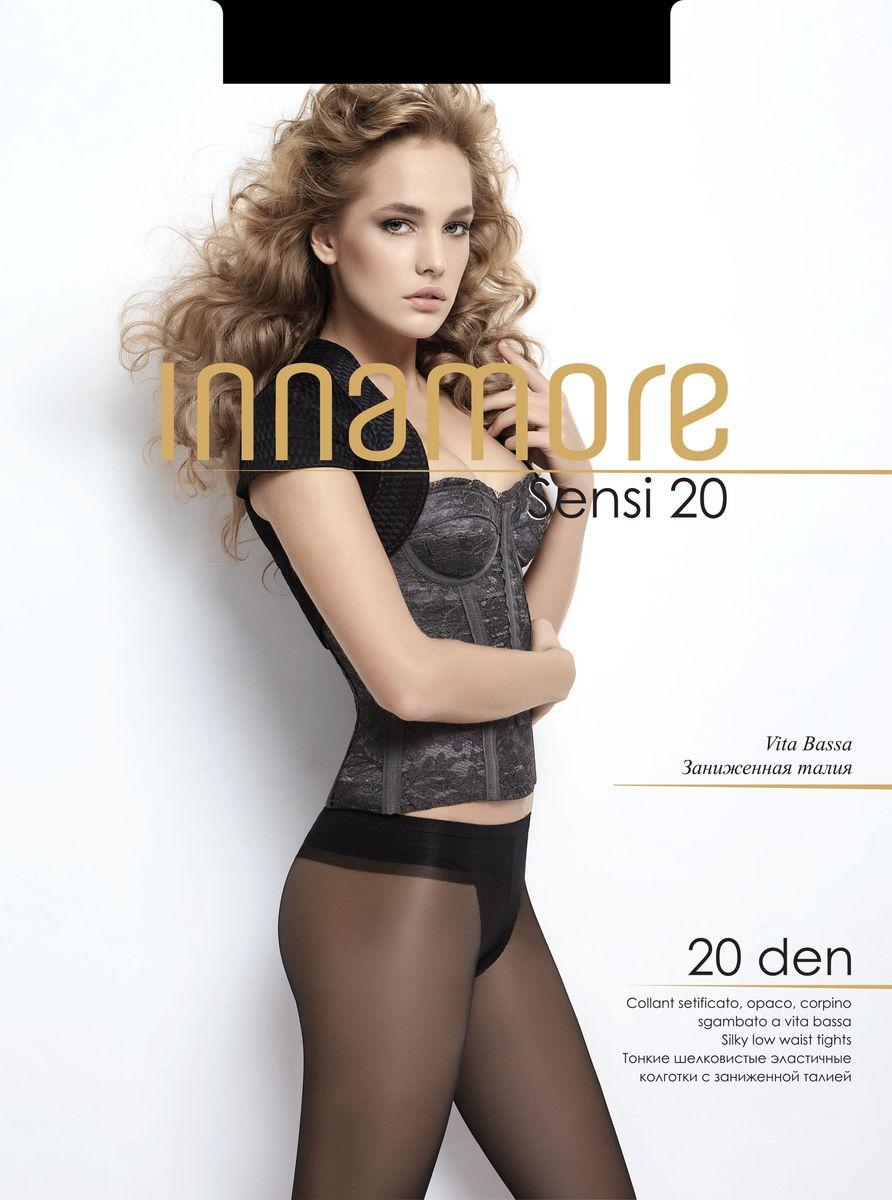 Колготки женские Sensi 20. 5366753667Стильные классические колготки Innamore Sensi 20, изготовленные из эластичного полиамида, идеально дополнят ваш образ и превосходно подойдут к любым платьям и юбкам. Ультратонкие шелковистые колготки с заниженной талией и укрепленным верхом легко тянутся, что делает их комфортными в носке. Гладкие и мягкие на ощупь, они имеют комфортный мягкий пояс, анатомическую ластовицу и укрепленный прозрачный мысок. Идеальное облегание и комфорт гарантированы при каждом движении. Плотность: 20 den.