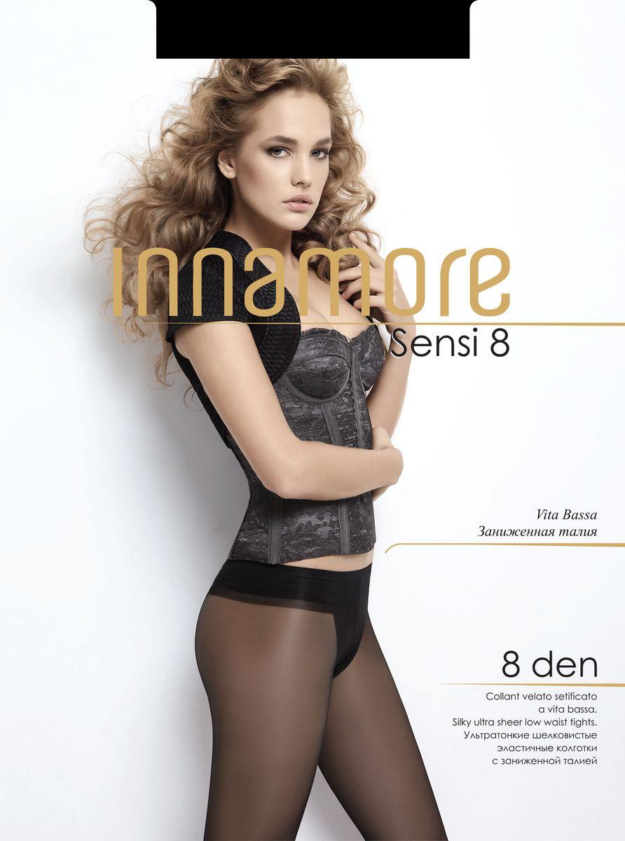 Колготки женские Sensi 8. 2643526435Стильные классические колготки Innamore Sensi 8, изготовленные из эластичного полиамида, идеально дополнят ваш образ и превосходно подойдут к любым платьям и юбкам. Ультратонкие шелковистые колготки с заниженной талией и укрепленным верхом легко тянутся, что делает их комфортными в носке. Гладкие и мягкие на ощупь, они имеют комфортный мягкий пояс, анатомическую ластовицу и укрепленный прозрачный мысок. Идеальное облегание и комфорт гарантированы при каждом движении. Плотность: 8 den.