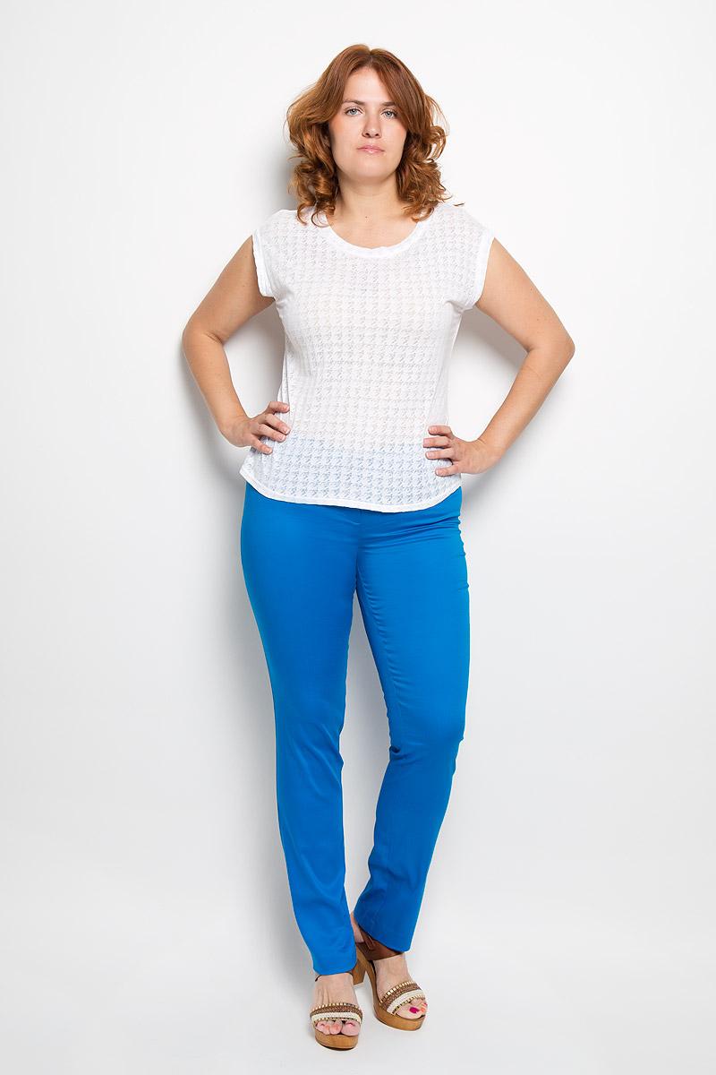 40316Женские брюки Milana Style, выполненные из хлопка с добавлением полиамида, прекрасно дополнят ваш образ. Материал легкий, мягкий и приятный на ощупь, не сковывает движения, позволяет коже дышать. Брюки прямого кроя и стандартной посадки на поясе застегиваются на пуговицу и имеют ширинку на застежке-молнии. Такая модель брюк будет дарить вам комфорт в течение всего дня и станет отличным дополнением к вашему гардеробу.