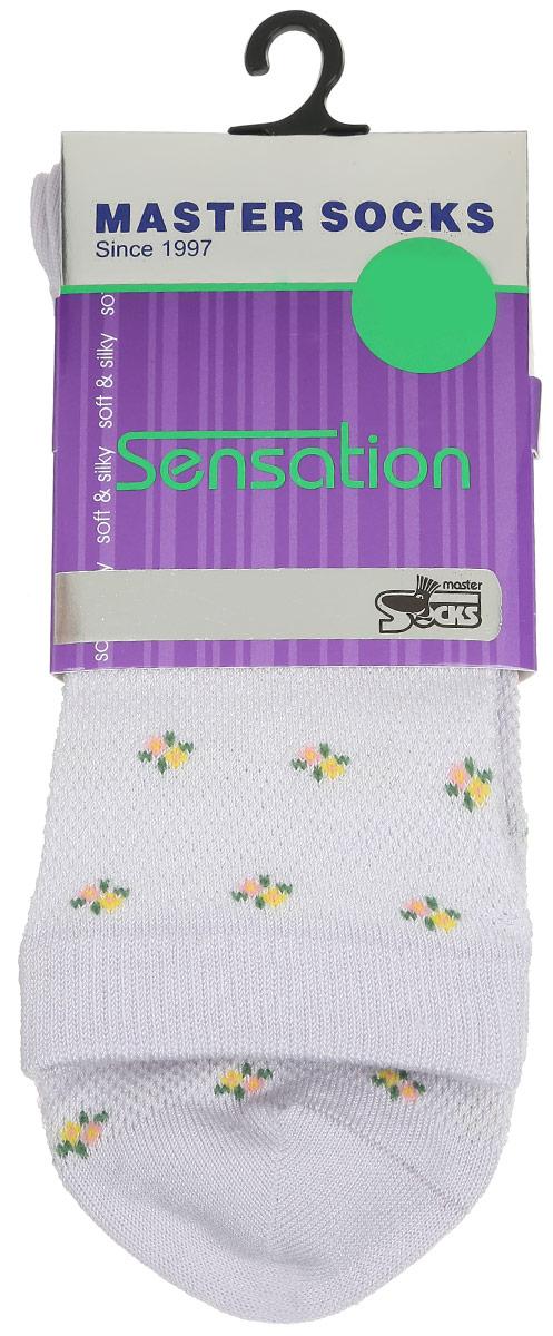 Носки женские. 85702_цветы85702Удобные носки Master Socks, изготовленные из высококачественного комбинированного материала, очень мягкие и приятные на ощупь, позволяют коже дышать. Эластичная резинка плотно облегает ногу, не сдавливая ее, обеспечивая комфорт и удобство. Носки цветочным орнаментом и дополнены перфорацией. Практичные и комфортные носки великолепно подойдут к любой вашей обуви.
