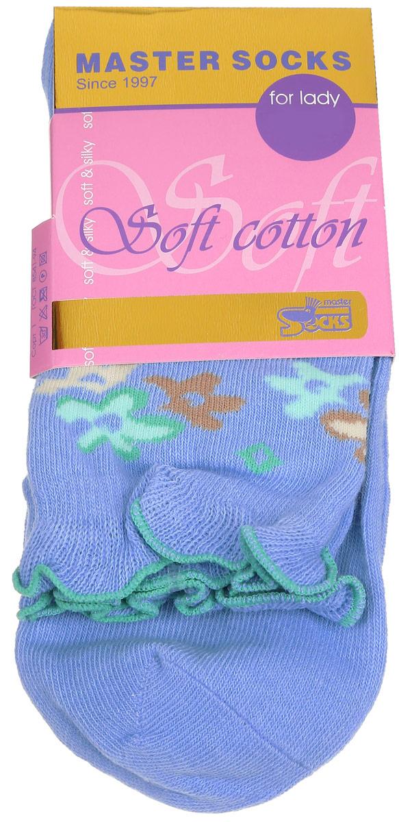 85008Удобные носки Master Socks, изготовленные из высококачественного комбинированного материала, очень мягкие и приятные на ощупь, позволяют коже дышать. Эластичная резинка плотно облегает ногу, не сдавливая ее, обеспечивая комфорт и удобство. Модель с стандартным паголенком оформлена оригинальным принтом, манжета изделия дополнена рюшами. Удобные и комфортные носки великолепно подойдут к любой вашей обуви.