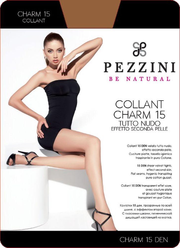 Колготки женские Charm 15. Ch15Ch15-abСтильные классические колготки Pezzini Charm 15, изготовленные из эластичного полиамида, идеально дополнят ваш образ и превосходно подойдут к любым платьям и юбкам. Тонкие шелковистые колготки с формованными ножками легко тянутся, что делает их комфортными в носке. Гладкие и мягкие на ощупь, они имеют удобные плоские швы, гигиеническую ластовицу, комфортный мягкий пояс и укрепленный прозрачный мысок. Идеальное облегание и комфорт гарантированы при каждом движении. Плотность: 15 den.