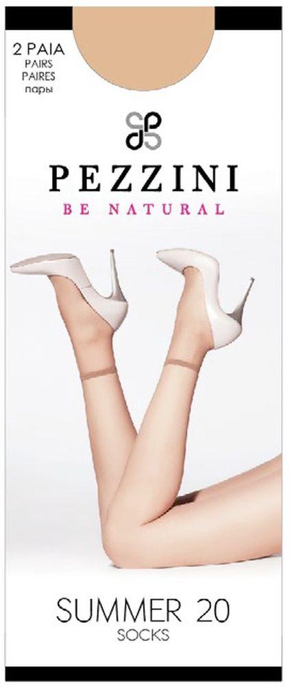 Носки женские Summer 20, 2 пары. Su20Su20-pl-unУдобные женские носки Pezzini Summer 20, изготовленные из высококачественного эластичного полиамида, идеально подойдут для повседневной носки. Входящий в состав материала полиамид обеспечивает износостойкость, а эластан позволяет носочкам легко тянуться, что делает их комфортными в носке. Эластичная резинка плотно облегает ногу, не сдавливая ее, обеспечивая комфорт и удобство и не препятствуя кровообращению. Практичные и комфортные носки с укрепленным прозрачным мыском великолепно подойдут к любой открытой обуви. В комплект входят 2 пары носков. Плотность: 20 den.