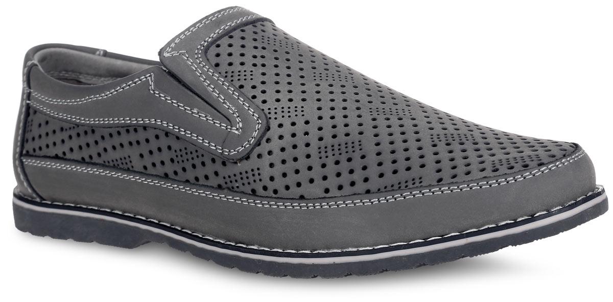 Туфли для мальчика. 732109-21732109-21Стильные летние туфли для мальчика от Котофей выполнены из натуральной высококачественной кожи и оформлены по верху перфорацией для лучшей воздухопроницаемости, по ранту - светлой прострочкой. Отсутствие застежек позволяет легко обувать и снимать обувь. Расположенные по бокам эластичные вставки обеспечивают лучшее прилегание обуви к стопе. Кожаные подкладка и стелька, которая дублирована мягким вспененным материалом, гарантируют комфорт при ходьбе. Подошва оснащена рифлением для лучшего сцепления с поверхностями. Такие туфли займут достойное место среди коллекции обуви вашего ребенка.