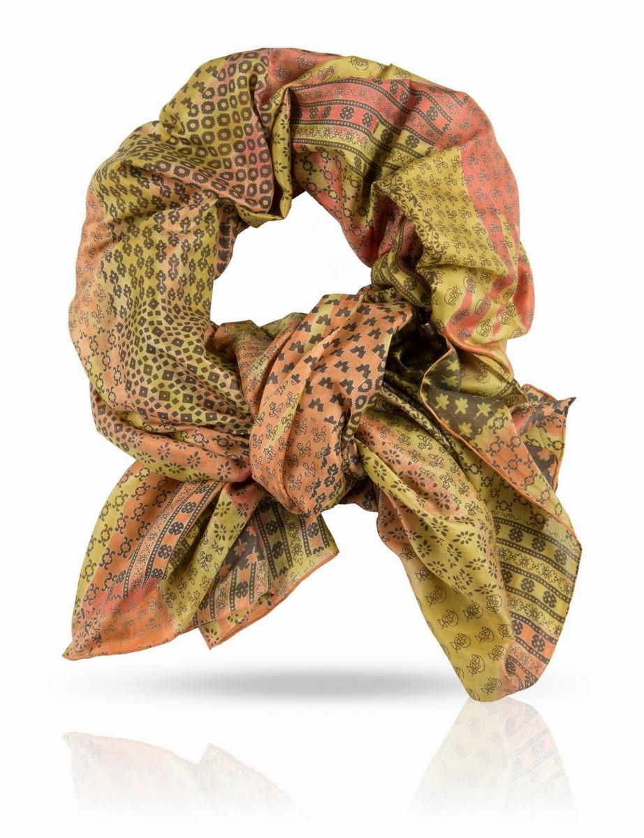 Палантин. SN-SMALL2/FIRESN-SMALL2/FIREПалантин, 100% натуральный шелк, шелковая ткань ручного плетения, вес изделия 75г