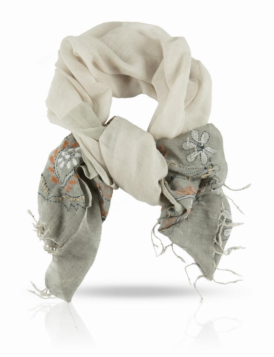 ZW.EMB/GREYОчаровательный палантин Michel Katana подчеркнет ваш неповторимый образ. Изделие выполнено из высококачественной шерсти и оформлено оригинальной ручной вышивкой. Палантин очень мягкий и приятный на ощупь, хорошо драпируется. Размер этого палантина позволяет уютно закутаться в него прохладным вечером. Этот модный аксессуар женского гардероба гармонично дополнит образ современной женщины, следящей за своим имиджем и стремящейся всегда оставаться стильной и элегантной.