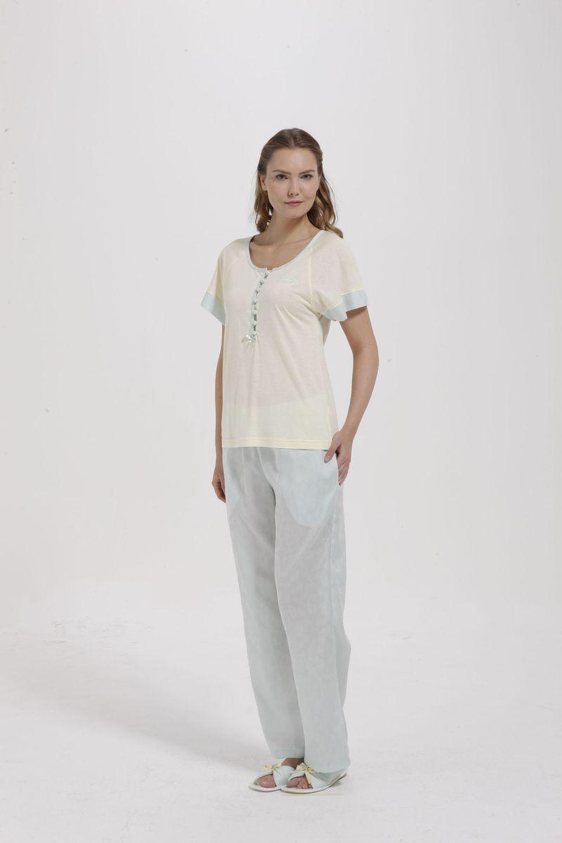 Пижама с брюками жен. 1092810928