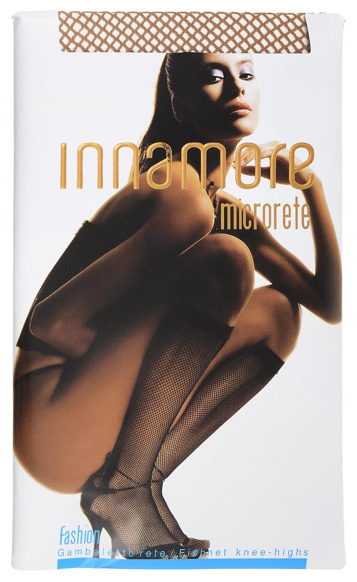 Гольфы женские MicroreteMicroreteЭластичные женские гольфы Innamore Microrete, выполненные из полиамида с добавлением эластана, идеально подойдут для повседневной носки. Модель в мелкую сетку дополнена мягкой резинкой.