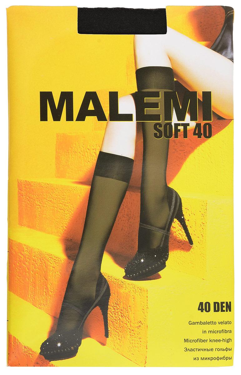 Гольфы женские Soft 40, 2 парыSoft 40Стильные гольфы Malemi Soft 40, изготовленные из эластичного полиамида, идеально дополнят ваш образ в прохладную погоду. Шелковистые тонкие гольфы легко тянутся, что делает их комфортными в носке. Гладкие и мягкие на ощупь, они имеют комфортную мягкую резинку. Идеальное облегание и комфорт гарантированы при каждом движении. Плотность: 40 den. В комплекте 2 пары.