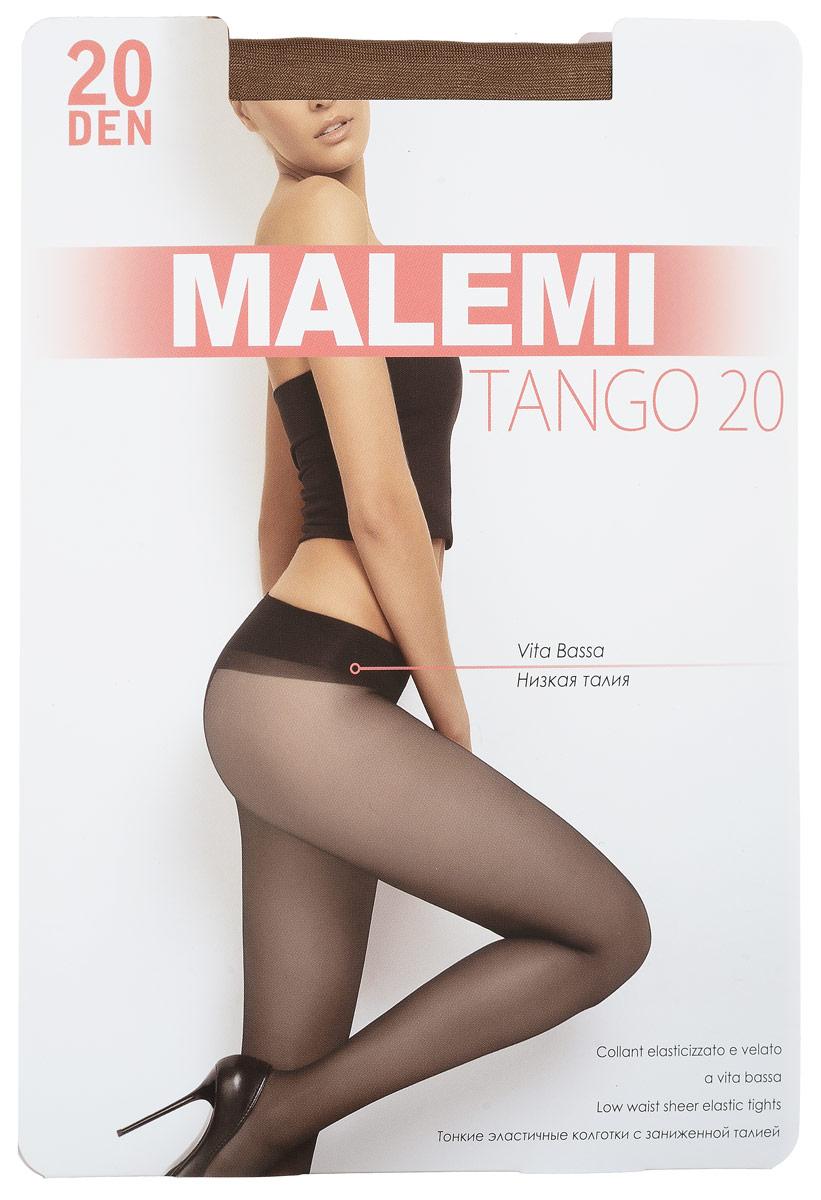 Колготки женские Tango 20. 90539053Стильные классические колготки Malemi Tango 20, изготовленные из эластичного полиамида, идеально дополнят ваш образ и превосходно подойдут к любым платьям и юбкам. Тонкие шелковистые колготки с формованными ножками легко тянутся, что делает их комфортными в носке. Гладкие и мягкие на ощупь, они имеют комфортный пояс, гигиеническую ластовицу и укрепленный прозрачный мысок. Идеальное облегание и комфорт гарантированы при каждом движении. Плотность: 20 den.