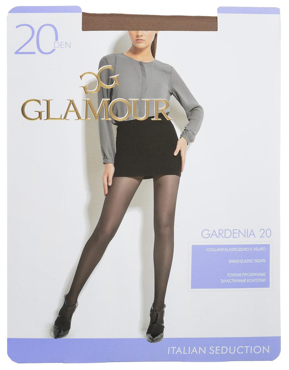 Колготки женские Gardenia 20. 2795527955Стильные классические колготки Glamour Gardenia 20, изготовленные из эластичного полиамида, идеально дополнят ваш образ и подчеркнут элегантность и стиль. Тонкие прозрачные колготки с шортиками легко тянутся, что делает их комфортными в носке. Гладкие и мягкие на ощупь, они имеют гигиеническую ластовицу, комфортный широкий пояс и укрепленный прозрачный мысок. Идеальное облегание и комфорт гарантированы при каждом движении. Плотность: 20 den.