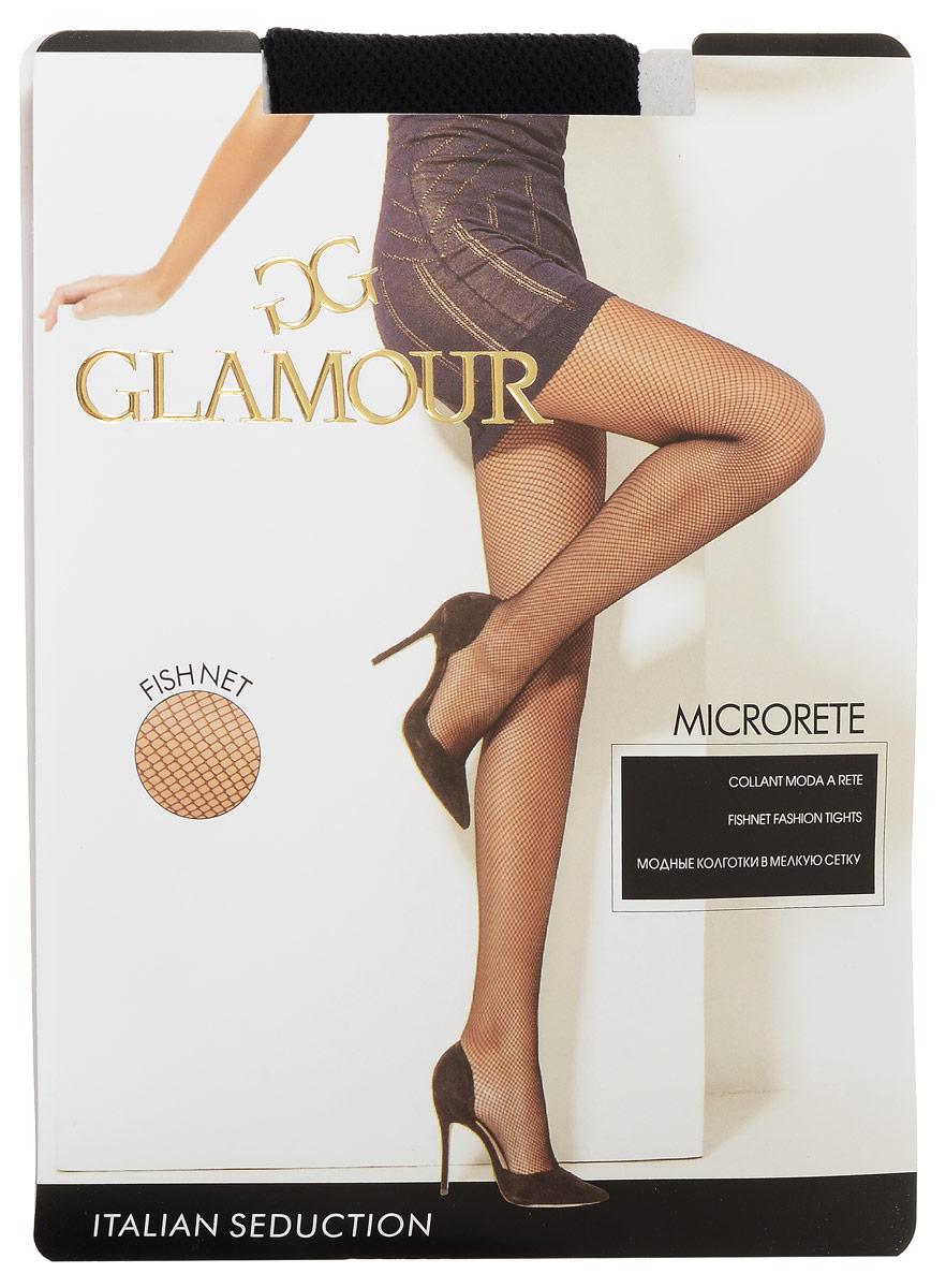 Колготки женские Microrete. 5003550035Стильные колготки Glamour Microrete, изготовленные из эластичного полиамида с добавлением хлопка, идеально дополнят ваш образ и подчеркнут элегантность и стиль. Тонкие шелковистые колготки в мелкую сетку легко тянутся, что делает их комфортными в носке. Гладкие и мягкие на ощупь, они имеют гигиеническую ластовицу и комфортный широкий пояс. Идеальное облегание и комфорт гарантированы при каждом движении.