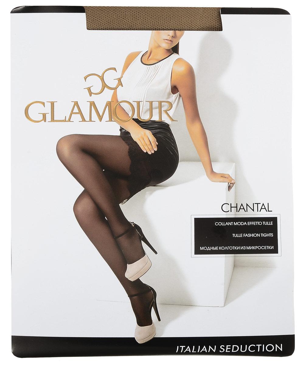 Колготки женские Chantal. 2582925829Стильные классические колготки Glamour Chantal, изготовленные из эластичного полиамида, идеально дополнят ваш образ и подчеркнут элегантность и стиль. Тонкие колготки из микросетки легко тянутся, что делает их комфортными в носке. Гладкие и мягкие на ощупь, они имеют гигиеническую ластовицу, комфортный широкий пояс и укрепленный прозрачный мысок. Идеальное облегание и комфорт гарантированы при каждом движении.