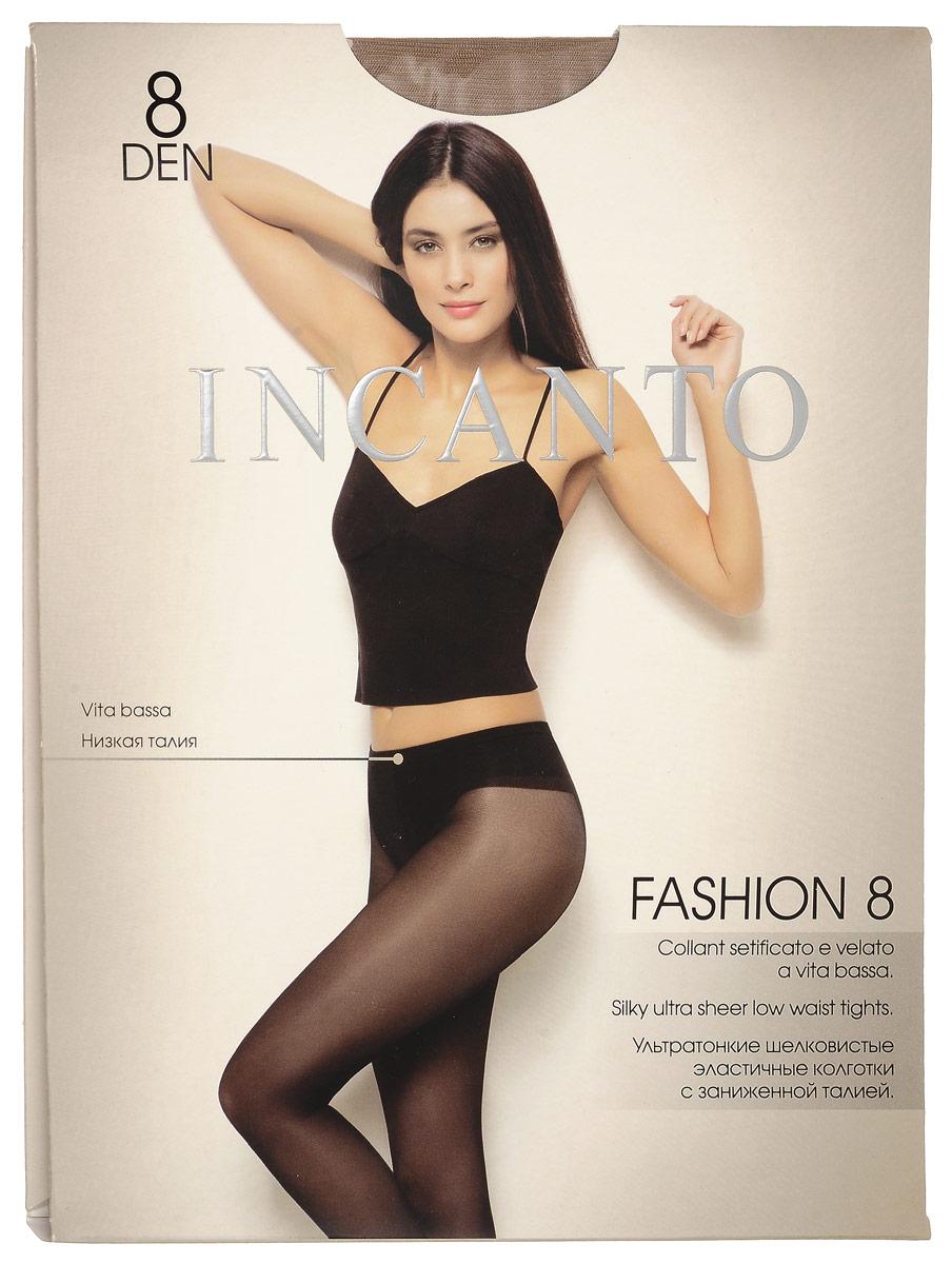 Колготки женские Fashion 8. 2643626436Стильные классические колготки Incanto Fashion 8, изготовленные из эластичного полиамида, идеально дополнят ваш образ и подчеркнут элегантность и стиль. Тонкие шелковистые колготки с заниженной талией легко тянутся, что делает их комфортными в носке. Гладкие и мягкие на ощупь, они имеют анатомическую ластовицу, комфортный широкий пояс и укрепленный прозрачный мысок. Идеальное облегание и комфорт гарантированы при каждом движении. Плотность: 8 den.