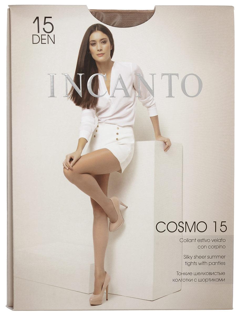 Колготки женские Cosmo 15. 76647664Стильные классические колготки Incanto Cosmo 15, изготовленные из эластичного полиамида, идеально дополнят ваш образ и подчеркнут элегантность и стиль. Тонкие шелковистые колготки с укрепленными шортиками легко тянутся, что делает их комфортными в носке. Гладкие и мягкие на ощупь, они имеют удобный пояс и укрепленный прозрачный мысок. Идеальное облегание и комфорт гарантированы при каждом движении. Плотность: 15 den.
