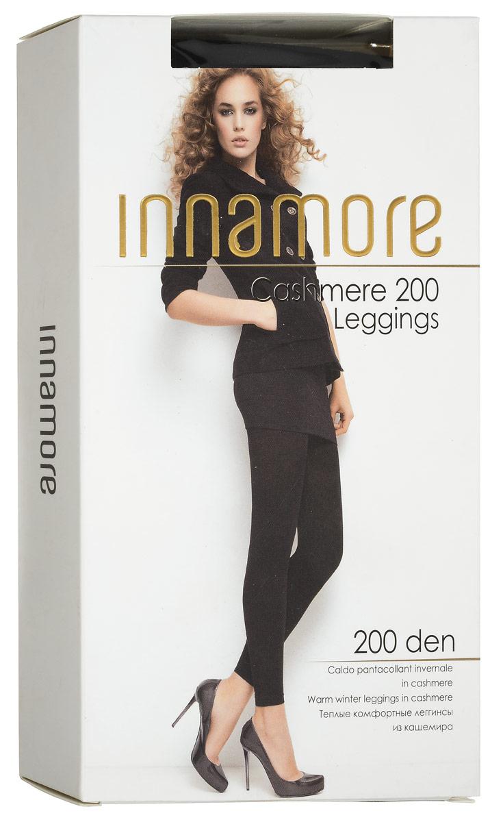 Cashmere 20Удобные женские леггинсы Innamore Cashmere 20 изготовлены из высококачественного эластичной вискозы с добавлением полиамида и кашемира, они необычайно теплые, мягкие и приятные на ощупь, не сковывают движения и позволяют коже дышать, не раздражают даже самую нежную и чувствительную кожу, обеспечивая наибольший комфорт. Обтягивающие леггинсы дополнены широкой эластичной резинкой на талии, а также имеют гигиеническую ластовицу и комфортные плоские швы. Такие леггинсы помогут вам создать неповторимый повседневный образ. Они послужат отличным дополнением к вашему гардеробу, в них вы будете чувствовать себя комфортно и уютно.