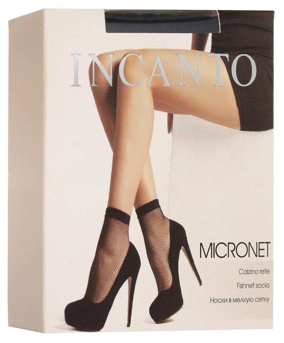 Носки женские Micronet, 2 парыMicronetУдобные женские носки Incanto Micronet, изготовленные из высококачественного эластичного полиамида, идеально подойдут для повседневной носки. Входящий в состав материала полиамид обеспечивает износостойкость, а эластан позволяет носочкам легко тянуться, что делает их комфортными в носке. Эластичная резинка плотно облегает ногу, не сдавливая ее, обеспечивая комфорт и удобство и не препятствуя кровообращению. Практичные и комфортные носки в мелкую сетку великолепно подойдут к любой открытой обуви. В комплект входят 2 пары носков.