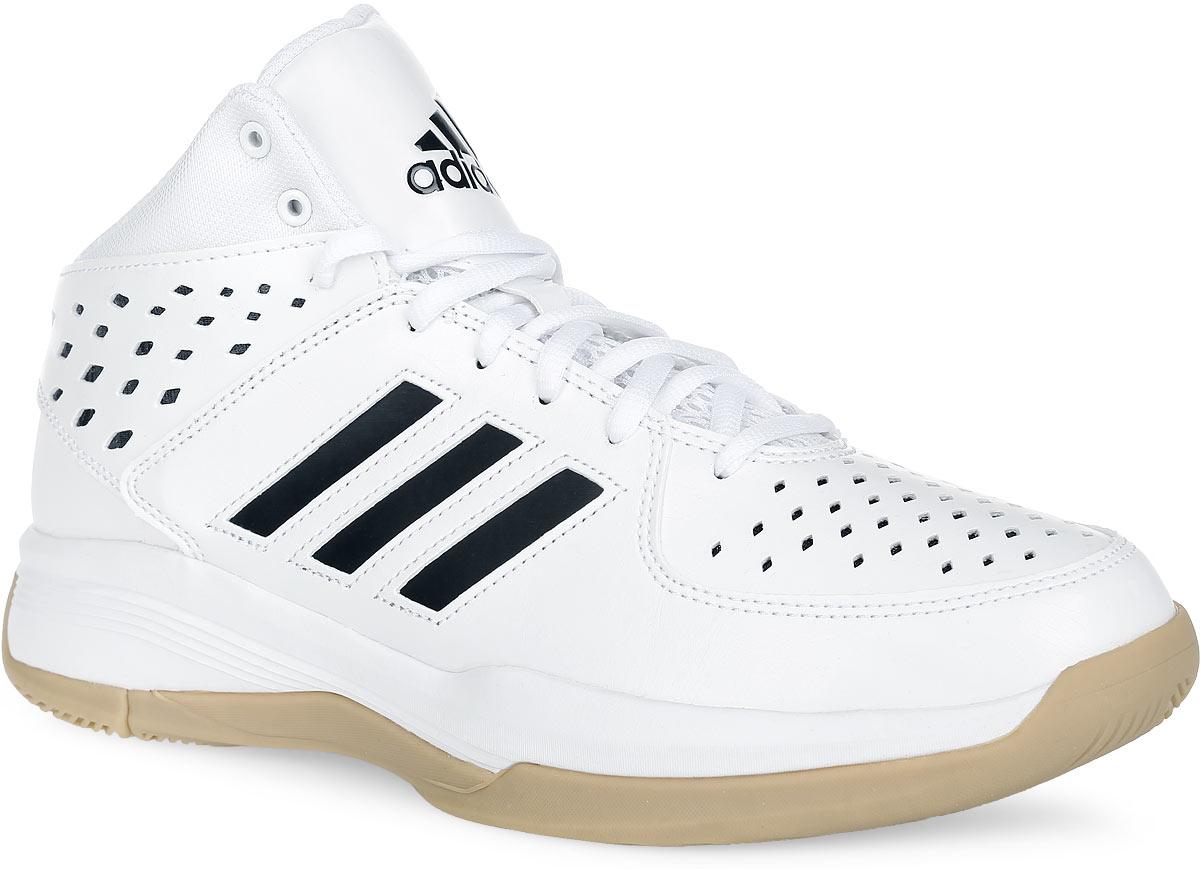 Кроссовки для баскетбола мужские Court Fury. AQ853AQ8537Стильные кроссовки от adidas Performance Court Fury, исполненные в современном баскетбольном стиле, отлично подойдут как для тренировок, так и для повседневной носки. Модель выполнена из искусственной кожи, дополнена вставками из текстиля и синтетических материалов. Боковые стороны оформлены фирменными полосками, передняя и задняя часть обуви - перфорацией для лучшего воздухообмена, язычок и задник - логотипом бренда. Классическая шнуровка надежно зафиксирует изделие на стопе. Текстильная подкладка и мягкий манжет предотвратят натирание и гарантируют уют. Стелька из ЭВА материала с текстильным верхним покрытием обеспечит лучшую амортизацию. Технология adiPrene+ в передней и задней части кроссовок обеспечивает невероятную амортизацию при отталкивании и приземлении, снижая ударную нагрузку. Прорезиненная накладка на мыске для дополнительной защиты пальцев. Специальный материал подошвы non-marking не оставляет следов на поверхностях. Рельефная поверхность подошвы обеспечивает...