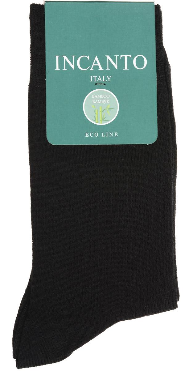НоскиBU733024Мужские носки Incanto изготовлены из бамбукового волокна с добавлением полиамида и эластана, которые обеспечивают великолепную посадку. Удобная широкая резинка идеально облегает ногу, усиленные пятка и мысок повышают износоустойчивость носка.
