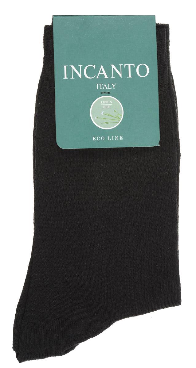 НоскиBU733025Мужские носки Incanto изготовлены из хлопка и льна с добавлением полиамидных волокон, которые обеспечивают великолепную посадку. Удобная широкая резинка идеально облегает ногу, усиленные пятка и мысок повышают износоустойчивость носка.