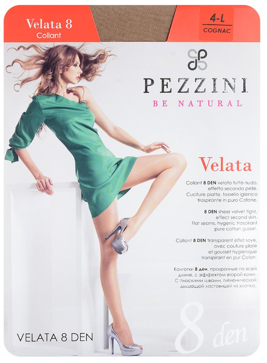 Колготки женские Velata 8. Ve8Ve8-abСтильные классические колготки Pezzini Velata 8, изготовленные из эластичного полиамида, идеально дополнят ваш образ и превосходно подойдут к любым платьям и юбкам. Тонкие шелковистые колготки с формованными ножками легко тянутся, что делает их комфортными в носке. Гладкие и мягкие на ощупь, они имеют комфортный мягкий пояс, удобные плоские швы, гигиеническую ластовицу и укрепленный прозрачный мысок. Идеальное облегание и комфорт гарантированы при каждом движении. Плотность: 8 den.
