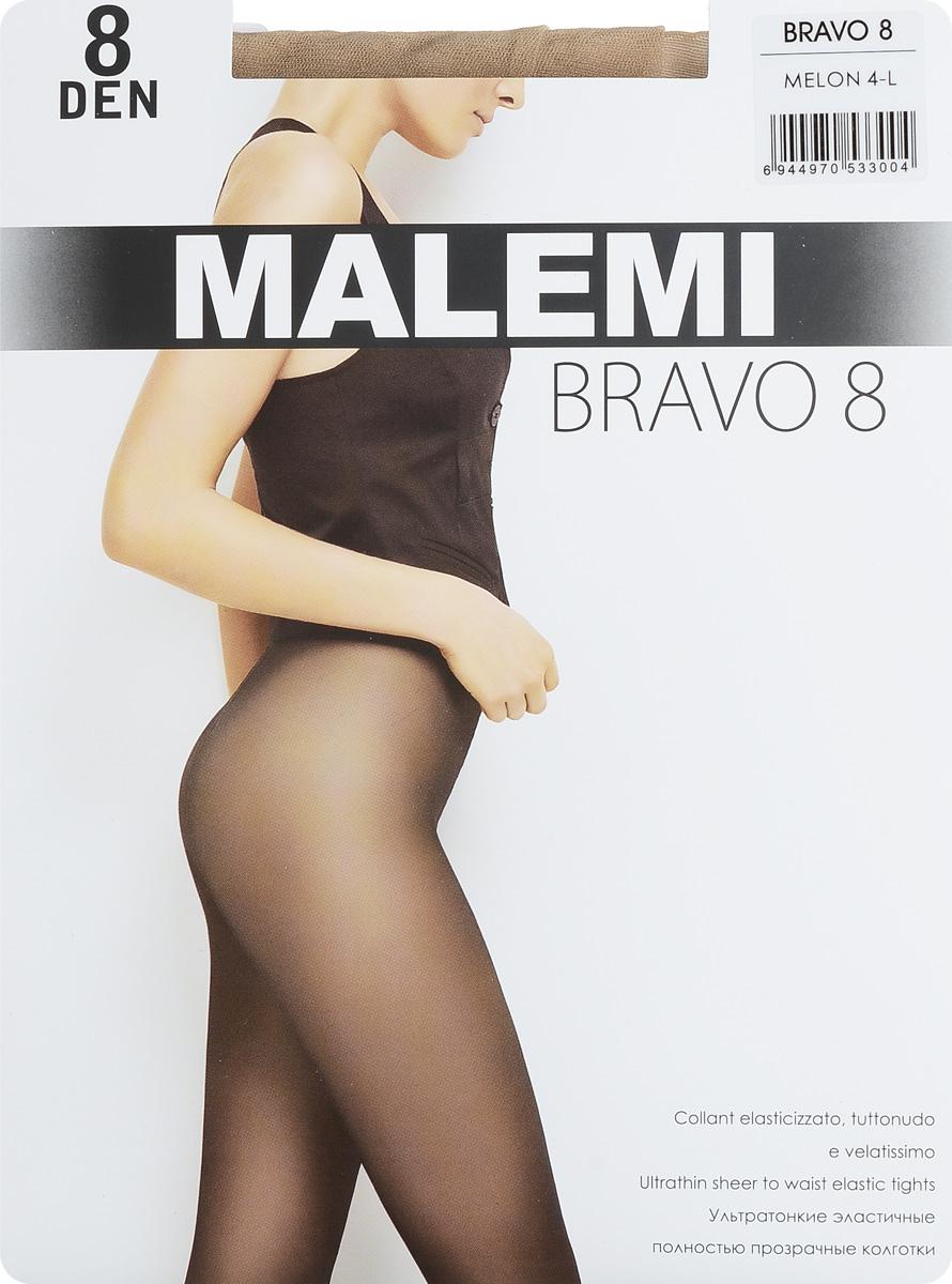 Колготки женские Bravo 8. 1601116011Стильные классические колготки Malemi Bravo 8, изготовленные из эластичного полиамида, идеально дополнят ваш образ и превосходно подойдут к любым платьям и юбкам. Ультратонкие шелковистые колготки легко тянутся, что делает их комфортными в носке. Гладкие и мягкие на ощупь, они имеют комфортный пояс, удобные плоские швы, гигиеническую ластовицу и укрепленный прозрачный мысок. Идеальное облегание и комфорт гарантированы при каждом движении. Плотность: 8 den.