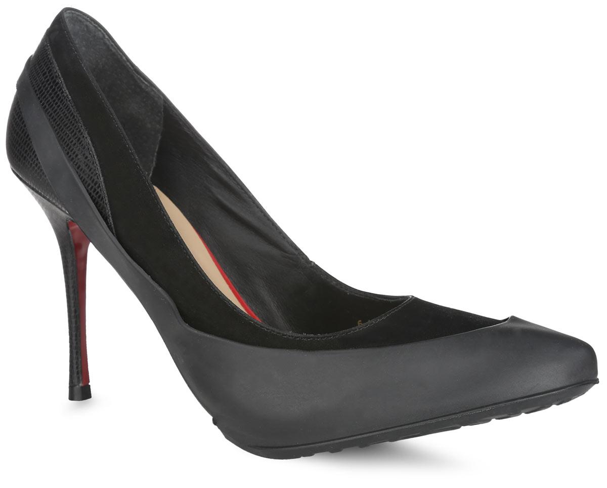 WKOBHСтильные женские галоши предназначены для защиты обуви без платформы и с высотой каблука от 5 до 15 см. Модель выполнена из резины с добавлением силикона. Сначала на обувь надевается носочная часть галош, а затем пяточная часть. Галоши защищают обувь от влаги, грязи, снега, соли и песка. Модель принимает форму обуви, легко моется и быстро сохнет. Рифление на подошве обеспечивает отличное сцепление с любой поверхностью. Модные галоши не только защитят вашу обувь, они помогут изменить ее внешний вид, сделав его более эффектным.