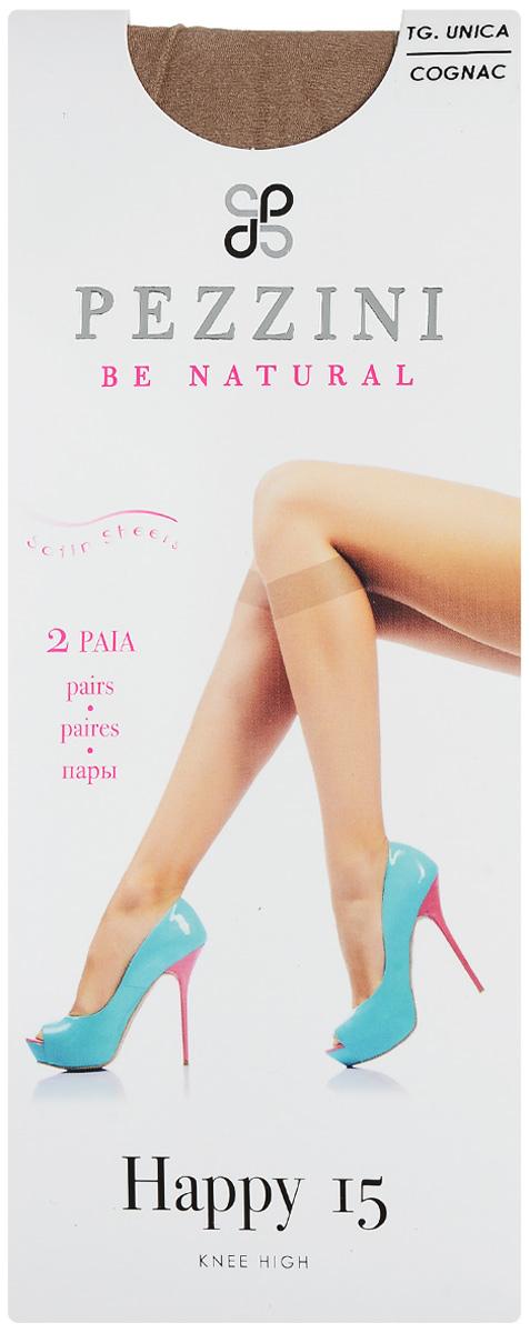 Гольфы женские Happy 15, 2 пары. Ha15Ha15-pl-unСтильные гольфы Pezzini Happy 15, изготовленные из эластичного полиамида, идеально дополнят ваш образ в прохладную погоду. Шелковистые гольфы легко тянутся, что делает их комфортными в носке. Гладкие и мягкие на ощупь, они имеют удобную резинку и укрепленный прозрачный мысок. Идеальное облегание и комфорт гарантированы при каждом движении. В комплект входят 2 пары гольф. Плотность: 15 den.