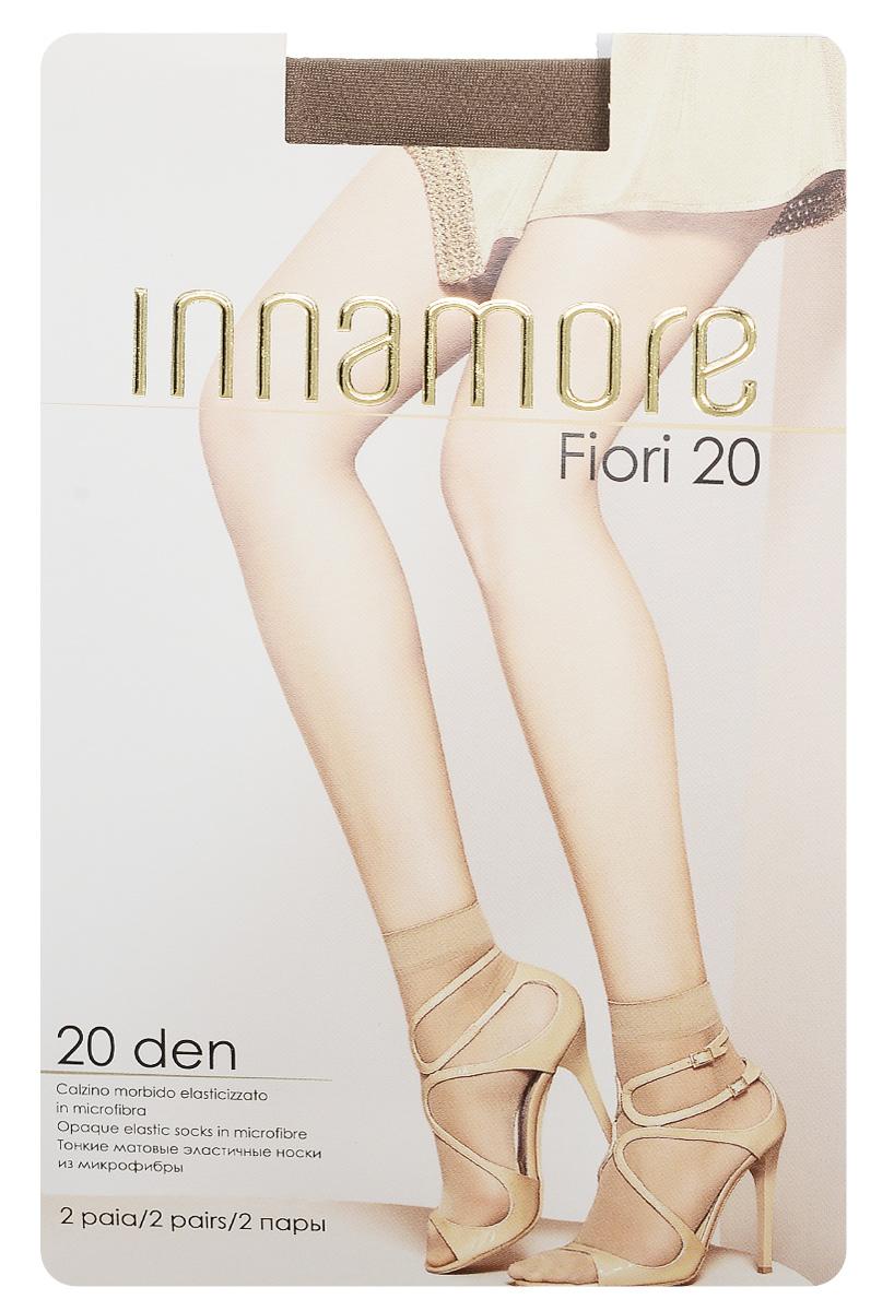 Innamore Носки женские Fiori 20, 2 пары. 6040