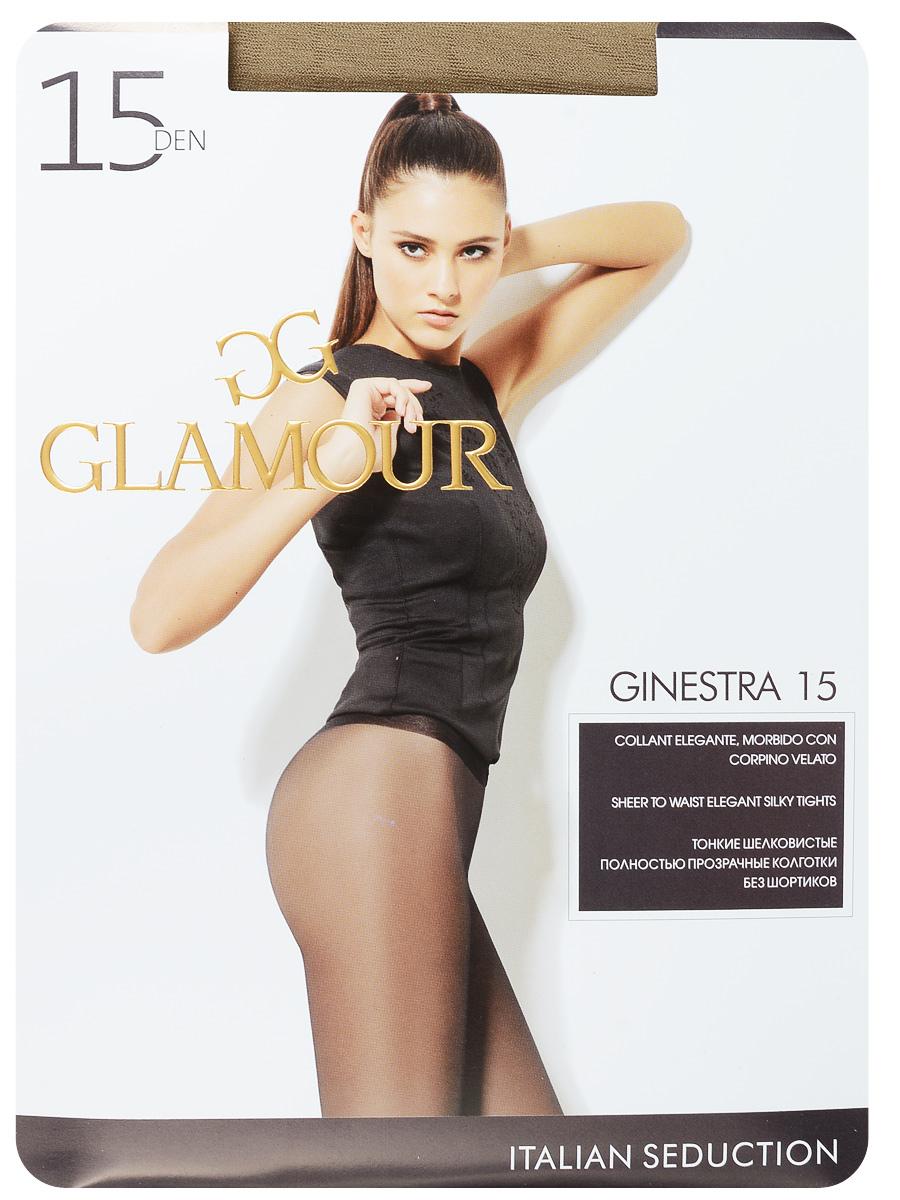 Колготки женские Ginestra 15. 2796027960Стильные классические колготки Glamour Ginestra 15, изготовленные из эластичного полиамида, идеально дополнят ваш образ в прохладную погоду. Тонкие, шелковистые колготки легко тянутся, что делает их комфортными в носке. Гладкие и мягкие на ощупь, они имеют комфортные плоские швы, гигиеническую ластовицу и укрепленный прозрачный мысок. Идеальное облегание и комфорт гарантированы при каждом движении. Плотность: 15 den.