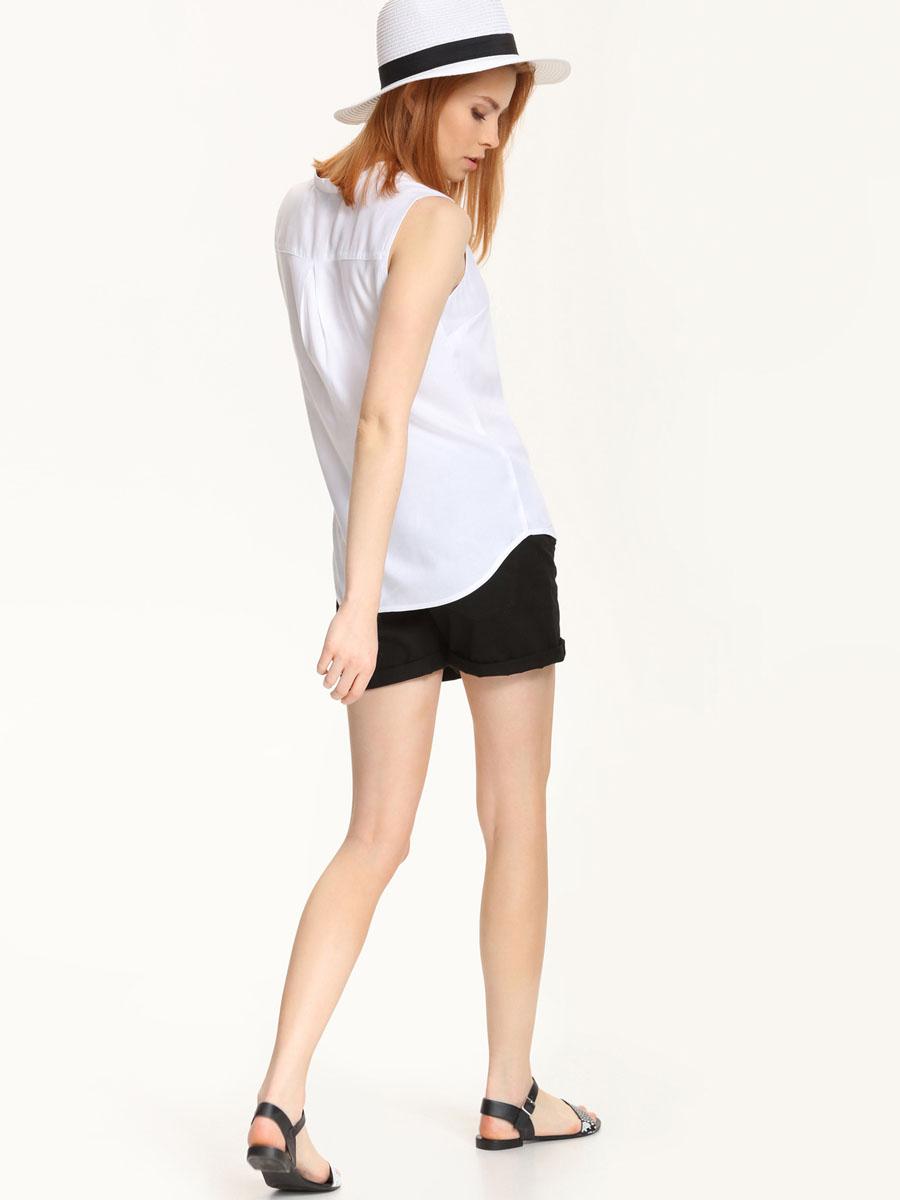 Рубашка женская без рукавов. SKE0015BI