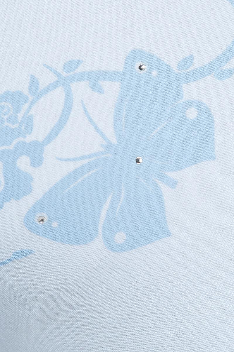 Водолазка для девочки. AW5561_бабочка