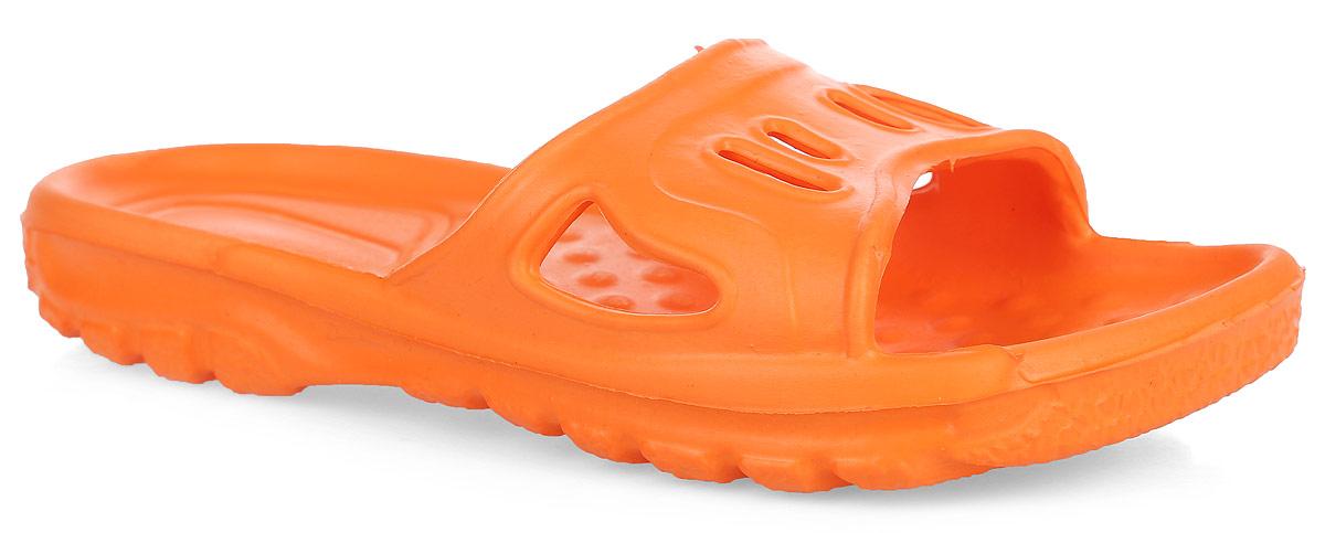 Шлепанцы детские. 210210Комфортные шлепанцы от Дюна придутся по душе вашему ребенку. Модель полностью выполнена из ЭВА материала и оформлена перфорацией для лучшей воздухопроницаемости. Материал ЭВА имеет пористую структуру, обладает великолепными теплоизоляционными и морозостойкими свойствами, придает обуви амортизационные свойства, мягкость при ходьбе, устойчивость к истиранию подошвы. Рифление на верхней поверхности подошвы предотвращает выскальзывание ноги. Гибкая подошва дополнена рифлением, которое гарантирует идеальное сцепление с любыми поверхностями. Удобные шлепанцы прекрасно подойдут для похода в бассейн или на пляж.