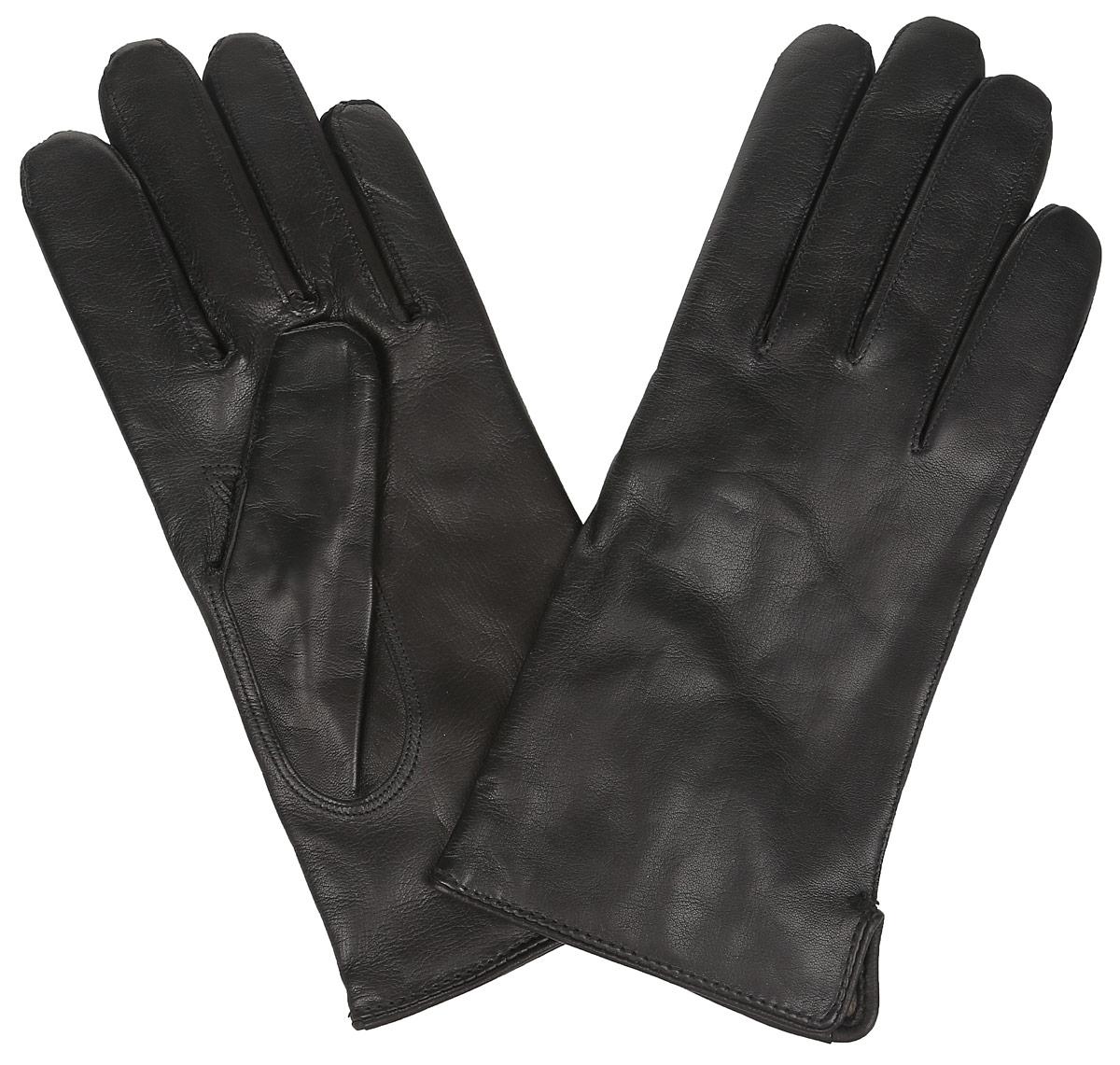 Перчатки мужские. DM12-234-0DM12-234-0Классические мужские перчатки Bartoc не только защитят ваши руки, но и станут великолепным украшением. Они выполнены из мягкой и приятной на ощупь натуральной кожи ягненка, а их подкладка - из натуральной шерсти. На внешнем боку перчатки имеется небольшой разрез. Перчатки прекрасно дополнят образ любого мужчины и сделают его более стильным, придав тонкую нотку брутальности. Создайте элегантный образ и подчеркните свою яркую индивидуальность новым аксессуаром!
