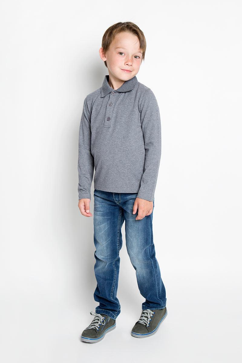 Кофта-поло для мальчика. 36304363043Кофта-поло для мальчика Scool идеально подойдет вашему мальчику. Изготовленная из хлопка с добавлением эластана, она мягкая и приятная на ощупь, не сковывает движения и позволяет коже дышать, обеспечивая комфорт. Кофта-поло с отложным воротничком и длинными рукавами застегивается сверху на три пуговицы. Воротник выполнен из плотной трикотажной резинки. Дизайн и цветовая гамма делают эту кофту стильным и модным предметом детской одежды. В ней ваш маленький мужчина всегда будет в центре внимания!