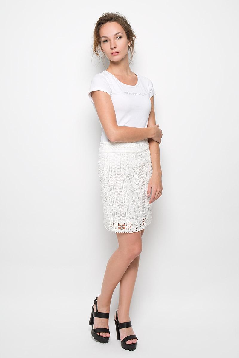 Юбка4651-690Стильная юбка Malvin, изготовленная из высококачественного хлопка, не раздражает нежную и чувствительную кожу, обеспечивая наибольший комфорт. Модель с подъюбником оформлена кружевом и застегивается сзади на застежку-молнию. Такая юбка подчеркнет ваш безупречный вкус и высокий стиль.