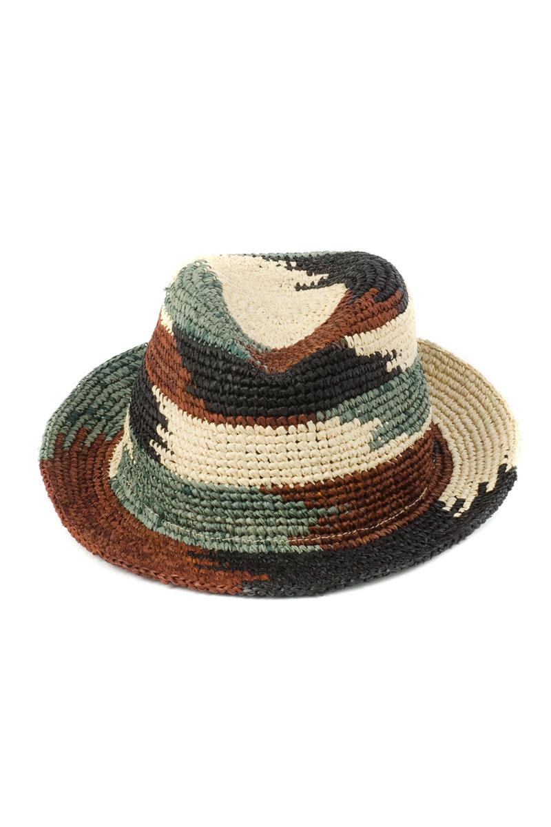 8B-1608Стильная летняя шляпа Moltini, выполненная из 100% рафии, станет незаменимым аксессуаром для пляжа и отдыха на природе, и обеспечит надежную защиту головы от солнца. Плетение шляпы обеспечивает необходимую вентиляцию и комфорт даже в самый знойный день. Шляпа легко восстанавливает свою форму после сжатия.