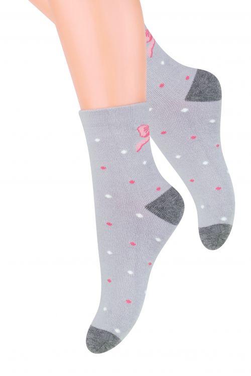 Носки014 (DM197)/014 (DN197)/014 (DO197)Хлопковые носки для девочки Steven, оформленные оригинальным рисунком, отлично подойдут для повседневной носки. Они изготовлены из высококачественного материала, очень мягкие на ощупь, не раздражают даже самую нежную и чувствительную кожу. Такие носки послужат замечательным дополнением к детскому гардеробу!