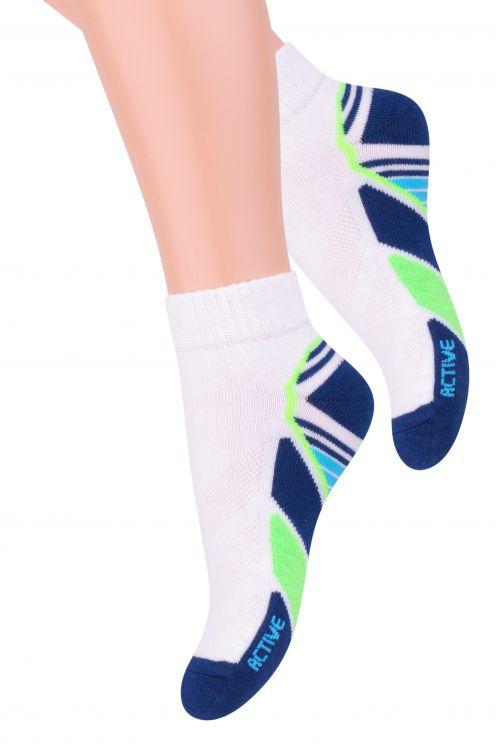 Носки004 (RC84)Хлопковые детские носки Steven отлично подойдут для повседневной носки. Они изготовлены из высококачественного материала, очень мягкие на ощупь, не раздражают даже самую нежную и чувствительную кожу. Оформлено изделие оригинальным рисунком. Такие носки послужат замечательным дополнением к детскому гардеробу!
