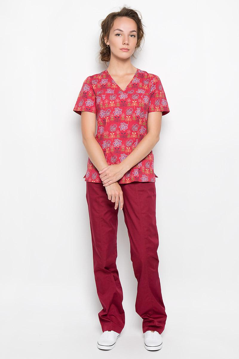 Брюки медицинские женские Альфа. 03-131-0103-131-01-1014Стильные медицинские брюки Med Fashion Lab Альфа выполнены из легкой ткани с учетом индивидуальных особенностей работы медицинского персонала. Модель прямого кроя с поясом на резинке. Пояс дополнен шнурком-кулиской с помощью которого можно регулировать объем по талии. Спереди изделие оформлено двумя втачными карманами. Такие брюки обеспечат вам комфорт в условиях интенсивной деятельности.