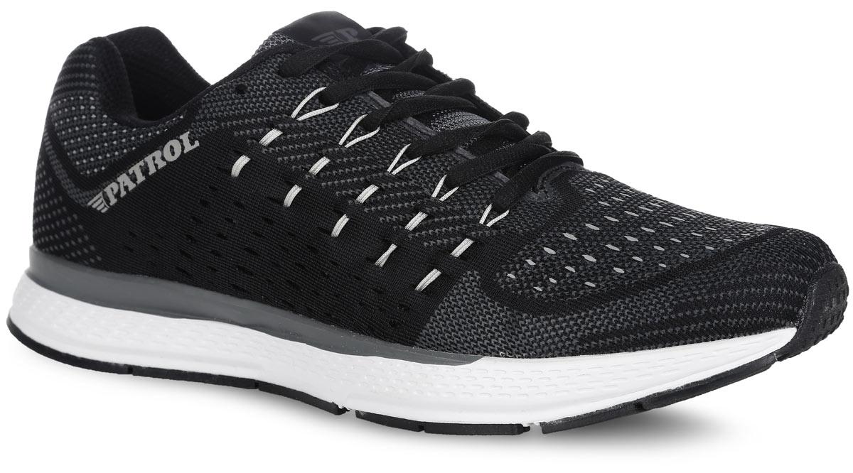 579-5004T-16s-8-1Мужские кроссовки от Patrol выполнены из сетчатого текстиля. Классическая шнуровка гарантирует надежную фиксацию обуви на ноге. Подкладка, изготовленная из текстиля, и стелька ЭВА обеспечивают дополнительный комфорт и предотвращают натирание. Боковые стороны и язычок дополнены логотипом бренда.