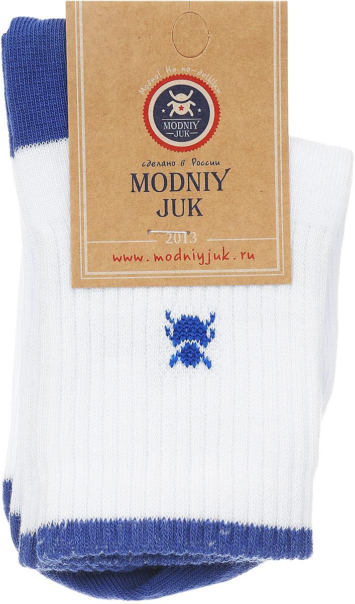 Носки для мальчика Sport. MJ-3MJ-3Носки для мальчика Modniy Juk Sport, изготовленные из высококачественного материала, идеально подойдут маленькому непоседе. Мягкая и широкая резинка плотно облегает ножку, не сдавливая ее, благодаря чему ребенку будет комфортно и удобно. Усиленные пятка и мысок обеспечивают надежность и долговечность. Носочки оформлены небольшим изображением жучка и принтовой надписью на английском языке.