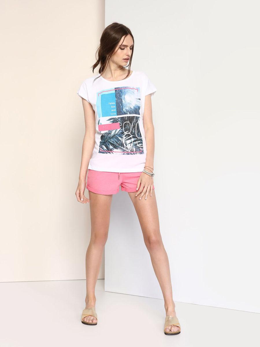 TPO1427BIМодная женская футболка Troll выполнена из хлопка и полиэстера. Модель с круглым вырезом горловины и короткими цельнокроеными рукавами оформлена спереди оригинальным принтом. Спинка модели немного удлинена.