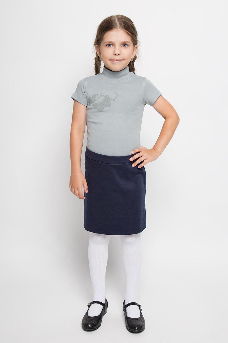Водолазка для девочки. AW5560_бабочкаAW5560A-5/AW5560B-5 AW5560A-10Водолазка для девочки M&D идеально подойдет вашей дочурке. Изготовленная из натурального хлопка, она необычайно мягкая и приятная на ощупь, не раздражает нежную кожу ребенка и хорошо вентилируется, а эластичные плоские швы приятны телу ребенка и не препятствуют его движениям. Водолазка с короткими рукавами и воротником-стойкой оформлена изображением оригинальной бабочки, декорированной стразами. Современный дизайн и расцветка делают эту водолазку модным и стильным предметом детского гардероба. В ней вашей маленькой моднице будет комфортно и уютно.